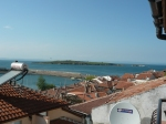 View from hotel balcony in Sozopol