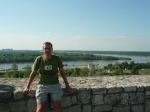 view from belgrade fortress.