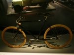 mercedes bike in mercedes museum in stuttgart