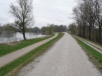 danube bike path, known as the donauradweg