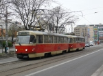 dodgy old tram in bratislava, you can really tell the communists were here