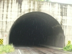 unlit tunnels - scary on a bike!