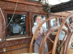 steering a tall ship!