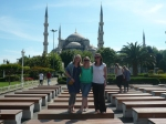 outside blue mosque