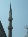 blue mosque minaret