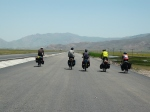 We were cycling as a group of 6 on our way into Dogubayerzit - great fun!