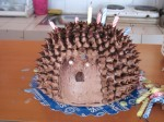 Christine's 30th birthday cake - a hedgehog!