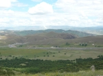 View from top of Kop pass (2400m), fabulous
