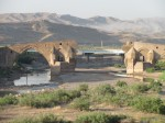 Bridge destroyed in Iran-Iraq war