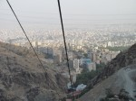 View of the megalopolis that is Tehran. For once it wasn't too smoggy. Over 17 million people live in this city, which extends further than the eye can see.