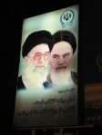 Ayatollahs Khomeini (on the left, the founder of the revolution, now dead) and Khameini (the current supreme leader of Iran). Their stern faces are everywhere. Almsot everybody we spoke to expressed a dislike of their status and power.