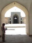 Inner courtyard of Jameh mosque
