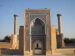 Gur Emir mausoleum in Samarqand