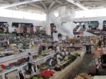 Busy market in Ashgabat