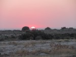 Desert sunrise - beautiful