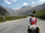 In the Gunt valley, soon after leaving Khorog