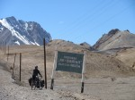 Approaching the pass