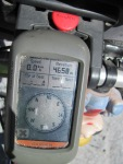 Just in case anyone thinks we are lying, here is the altimeter reading!