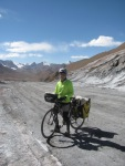 Posing on the top of Ak Baital pass, at 4655m.