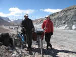 Polish couple we met on the top of Ak Baital pass