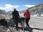 Polish couple we met on the top of Ak Baital pass