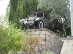 The first car ever to drive across the Pamir Highway