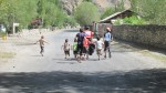 Kids chasing us out of their village (in a friendly way!)