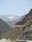 Tajikistan flags!