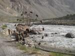 Old waterwheel near Rushan