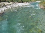One of the many crystal clear (and freezing cold) mountain springs in the area. Water doesn't get much purer than this!