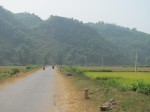 The road from Mai Chau to Hoi Xuan
