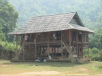 Another typical village stilt house