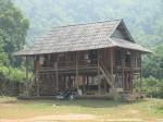 Another typical village stilt house