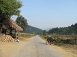 The road to Nameo, at the Vietnam/Laos border