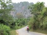 Nice scenery around Vieng Xay.