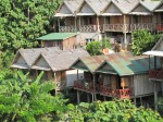 Bungalows in Nongkhiaw - ours was in the middle!