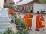 Novice monks in Luang Prabang.
