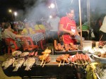 Vientiane night market, a great place for dinner.