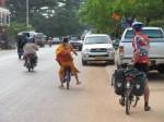 Monks in Thakhek