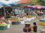 Market in Stung Treng, Cambodia