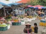 Market in Stung Treng, Cambodia