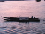 Longtail boat on the Mekong
