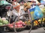 Vietnamese fruit seller.
