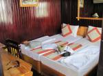 Our cabin on Halong bay boat.